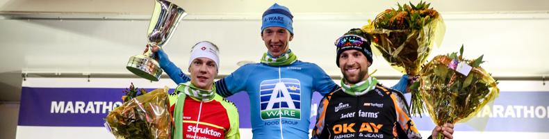 Evert Hoolwerf sprint naar winst in 46e Jaap Eden Trofee