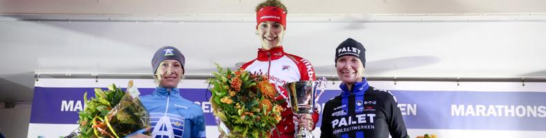 Lisa van der Geest opent seizoen met overwinning