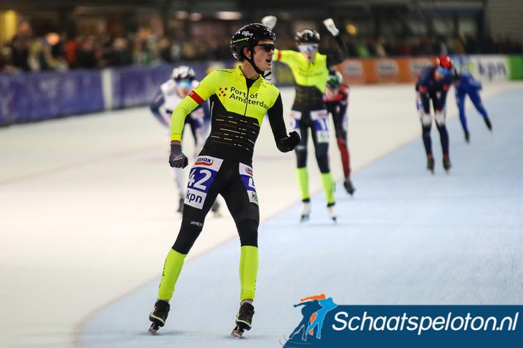 Victor Ramler won vorige maand de marathon in Groningen.