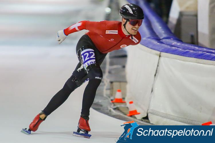 Philip due Schmidt kon bij het luiden van de bel al lachen, hij rijdt onbedreigd naar de eerste Deense marathonoverwinning.