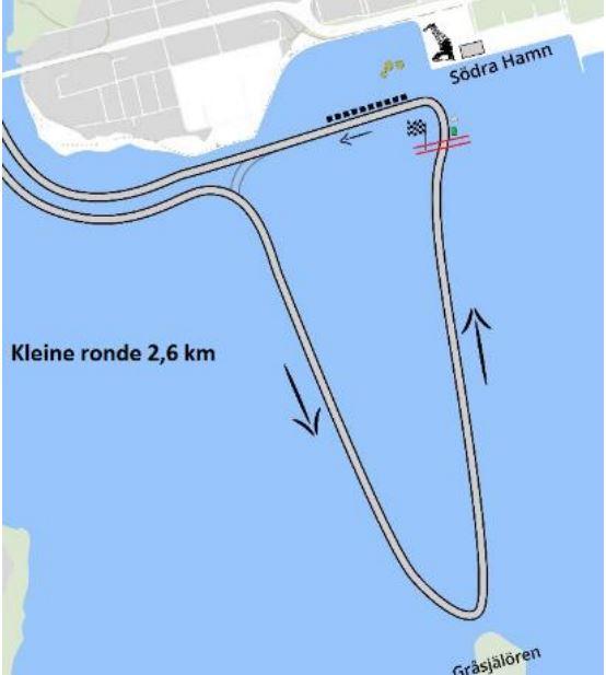 De wedstrijd in Luleå zal verreden worden op een parcours van 2,6 kilometer waarop de Dames 39 kilometer rijden en de Heren 49 kilometer.