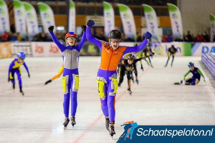 Ook dit jaar strijden de jongste marathonschaatsers van Nederland weer om de titel tijdens het NK marathonschaatsen voor jeugd.