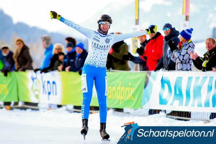 Carla Ketellapper-Zielman won dit seizoen het Open NK op natuurijs.