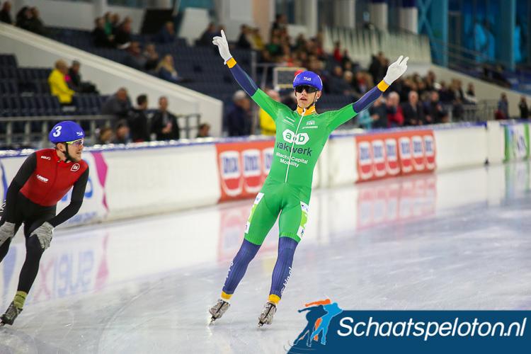 Bart Hoolwerf klopte in de sprint Jan Blokhuijsen.