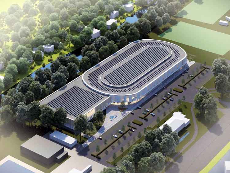 In Zuid-Holland hoopt men dat dit het toekomstbeeld is, een 333-meterbaan in Leiden.