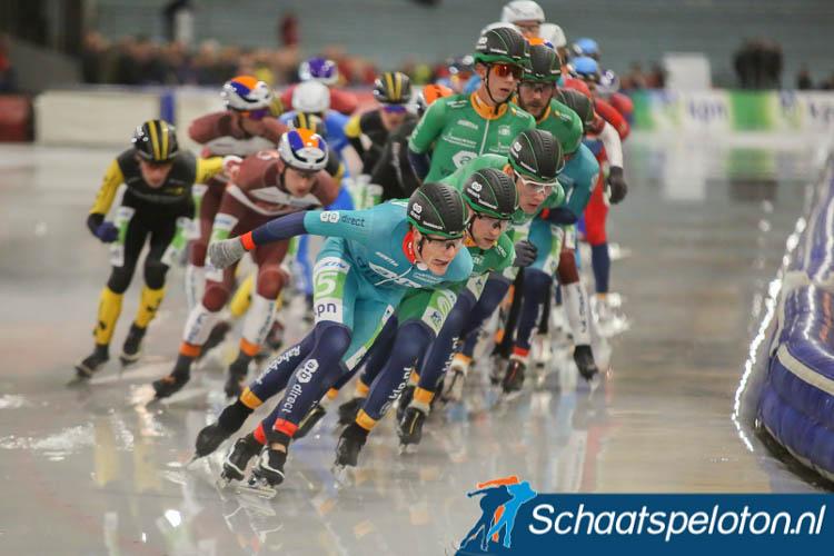 De AB Vakwerk-trein, al dan niet met hulp van zusterlocomotief Remco Schouten, leidde Bart Hoolwerf en Gary Hekman naar winst in de twee massasprints die de eerste vijf wedstrijden in de KPN Marathon Cup rijk was.