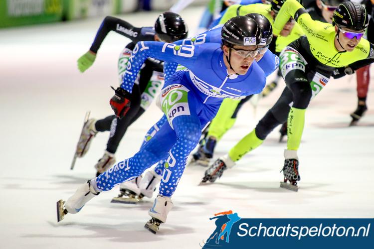 Chris Huizinga kwam dit seizoen voor AB Transport uit in het marathonschaatsen.