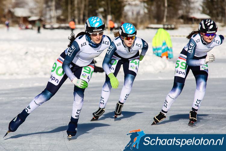 De rijders van de schaatsploegen ACE moeten opzoek naar een nieuwe geldschieter.