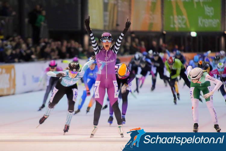 Arianna Pruisscher won eerder bij de beloftendames, in Breda pakte zij de zuidelijke titel.