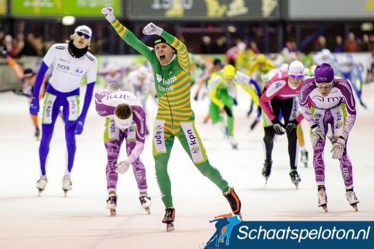 Arjan Stroetinga behaalde Tweede Kerstdag 2010 in Utrecht de Nederlandse titel na eerder dat seizoen ook de cupwedstrijd in de Domstad te hebben gewonnen. Slechts 20% van de winnaars slaagt hierin.