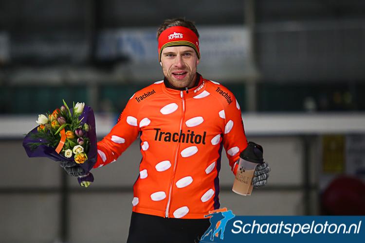 Bart de Vries is al zeker van het pillenpak, al reed hij er deze vierdaagse nog geen dag in.