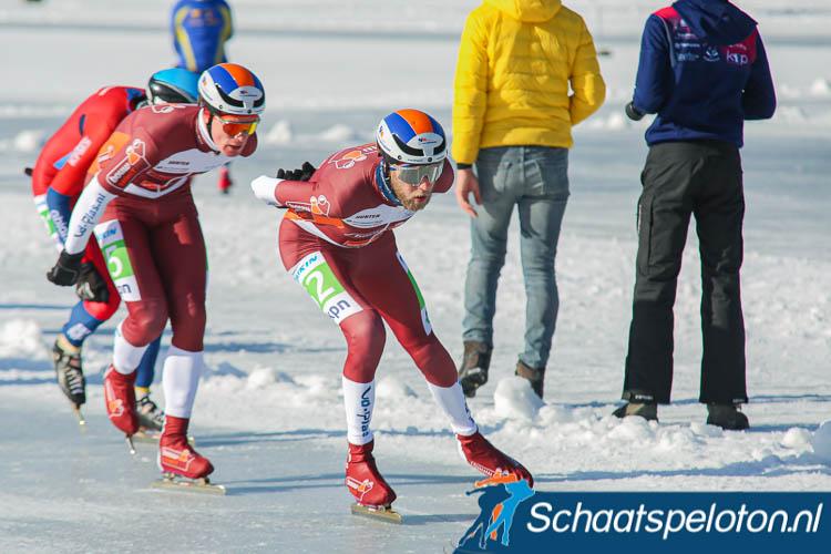 Door de goede prestaties op natuurijs is Bouwselect al zeker van de eindwinst in het ploegenklassement. Zij kunnen zaterdag niet meer achterhaald worden.