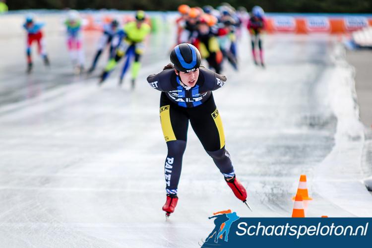 Demi van Benthem zal komend seizoen als vijfde rijdster van de landelijke ploeg van Palet Schilerwerken.
