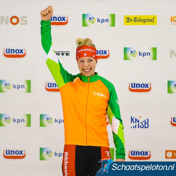 In het afgelopen seizoen won Van der Stelt met overmacht het eindklassement in de KPN Marathon Cup.