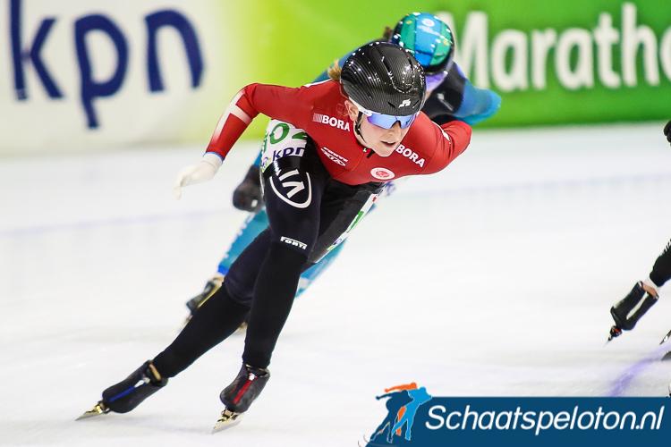 Elena Møller-Rigas werd met een tweede plaats de eerste Deense op een World Cuppodium.