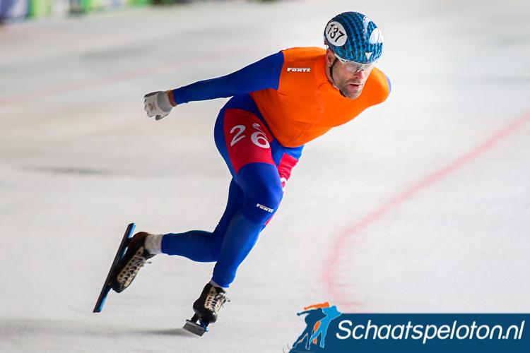 Erben Wennemars zal zoals het er nu naar uitziet nieuwjaarsdag niet zijn Nederlandse titel marathonschaatsen bij de Masters gaan verdedigen.