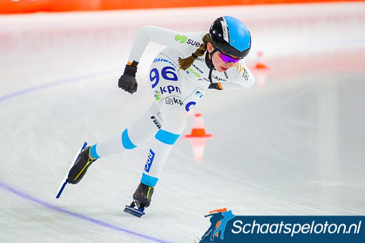 Evelien Vijn zal haar debuut op het hoogste niveau maken nadat zij afgelopen winter in de regiotopcompetitie goed was voor een overwinning en de derde plaats in het eindklassement van die landelijke wedstrijdcyclus.