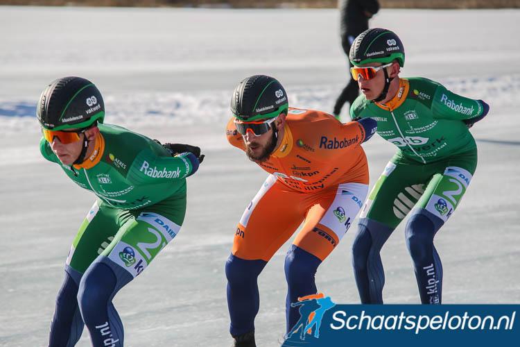 Evert en Bart Hoolwerf zijn ook komend seizoen weer ploeggenoten van Gary Hekman bij AB Vakwerk.