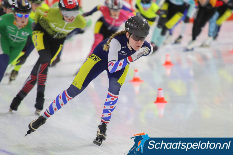 Fenna Zandstra werd vorig seizoen negende in de regiotopcompetitie.