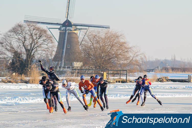 Deze winter mag er op Nederlands natuurijs geen wedstrijd georganiseerd worden. Ook niet in de geplande natuurijsbubbel
