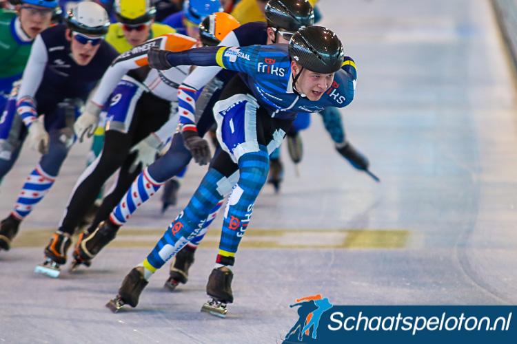 Homme Jan de Groot is een van de rijders die is uitgenodigd om zaterdag te starten bij de beloften in de eerste doorstroommarathon van het seizoen. De Groot won dit seizoen al twee wedstrijden in de Noord-Oost Competitie.