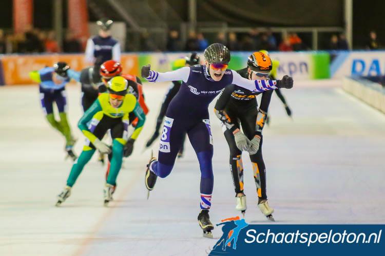 Ids Bouma wint in Tilburg de laatste doorstroommarathon van het seizoen.
