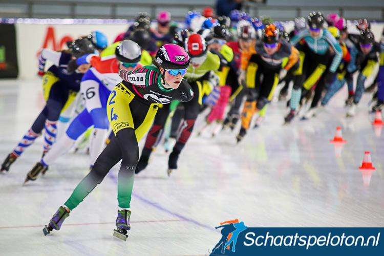 Het damesbeloftenpeloton strijdt komende winter in acht wedstrijden om de KPN Marathon Cup.