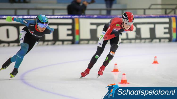 Anne Leltz (re.) vervangt bij Speelman-Haak Janneke Ensing (li.) en maakt samen met Muriël Meijer de ploeg compleet.