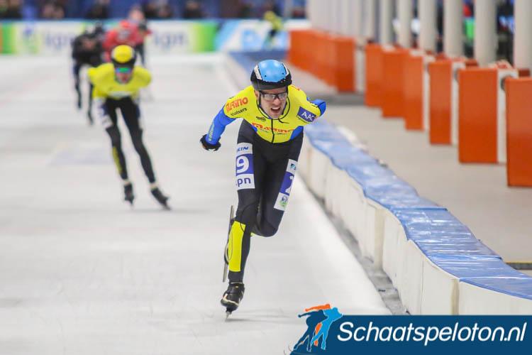 Johan Bakker kwam bij de cupfinale nog zelf bij de beloften tot een tweede plaats maar wordt volgend seizoen samen met Marja Vis ploegleider van Bewustwinkelen/TEKLAB.
