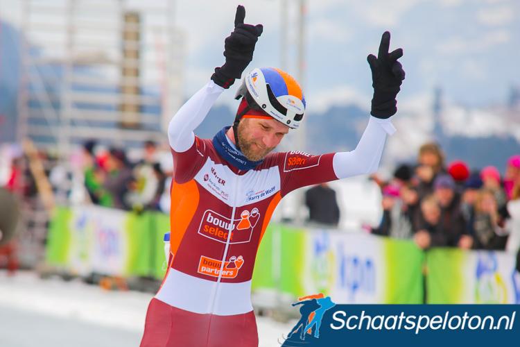 Jouke Hoogeveen soleert naar de Open Nederlandse titel.