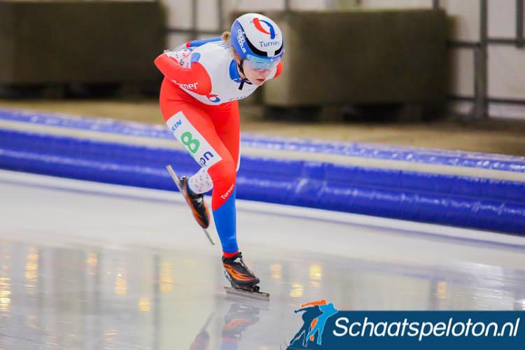 Lisa van der Geest brak de ban voor Team Turner. Zij won dinsdag op Flevonice.