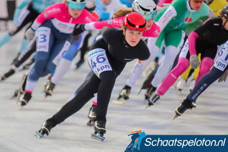 Loes Busser blijft winnen in de Noord-Oost Competitie.