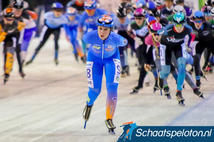 Manon Gremmen pakte door haar overwinning in Enschede ook de leiding in de Noord-Oost Competitie.