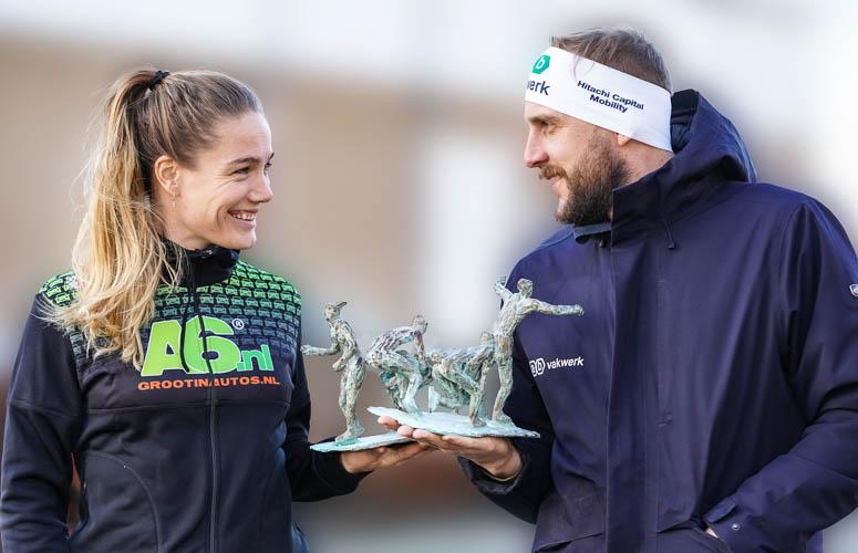 Prijs Marathonschaatsers van het Jaar voor Gary Hekman en Manon Kamminga