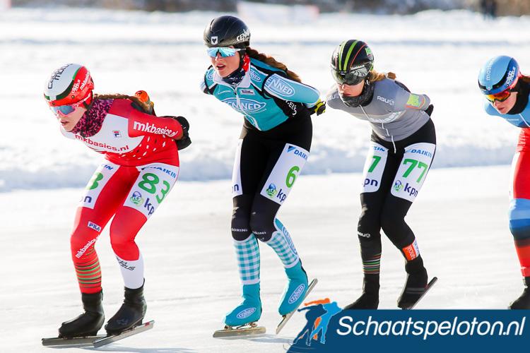 Maya de Jong werd donderdag bij de AKM 2e en maandag bij de tweede Grand Prix 3e en zal ook komend seizoen uitkomen voor CENNED.