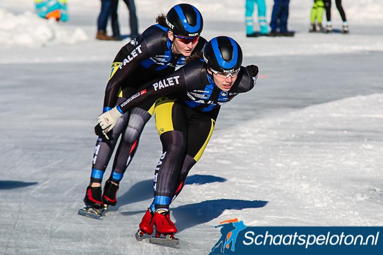 Annet Noppert en Demi van Benthem zullen volgend seizoen de stap maken naar de Topdivisie.