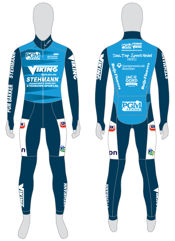 PGM Bakker zal komend seizoen op de borst prijken bij de topdivisieploeg PGM Bakker-Stehmann-Viking.
