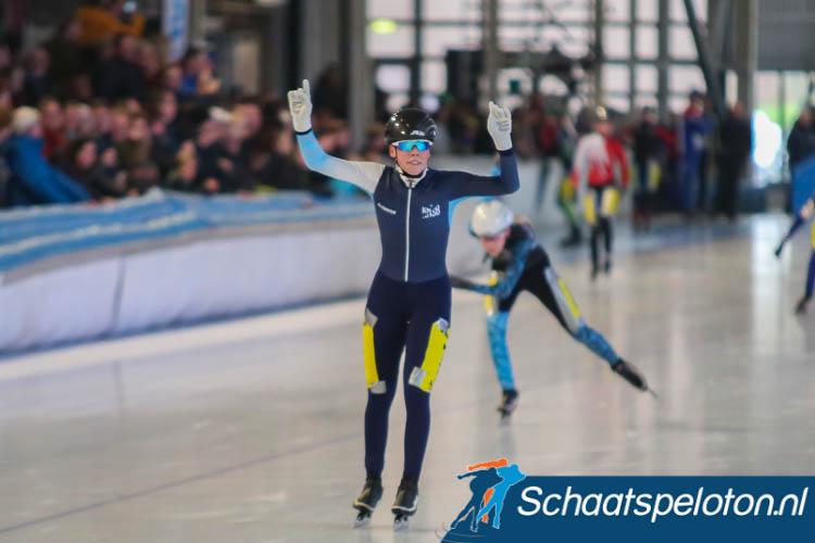 Patricia Koot won het kampioenschap bij de meisjes Junioren C