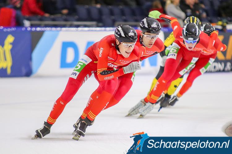 Remco Schouten zal komend seizoen voor AB Vakwerk schaatsen.