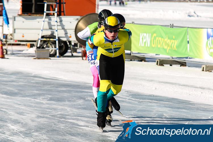 Afgelopen winter bleven de ereplekken voor de Wassenaarder beperkt tot een bronzen medaille tijdens het Open Oostenrijkse Kampioenschap op de Weissensee.