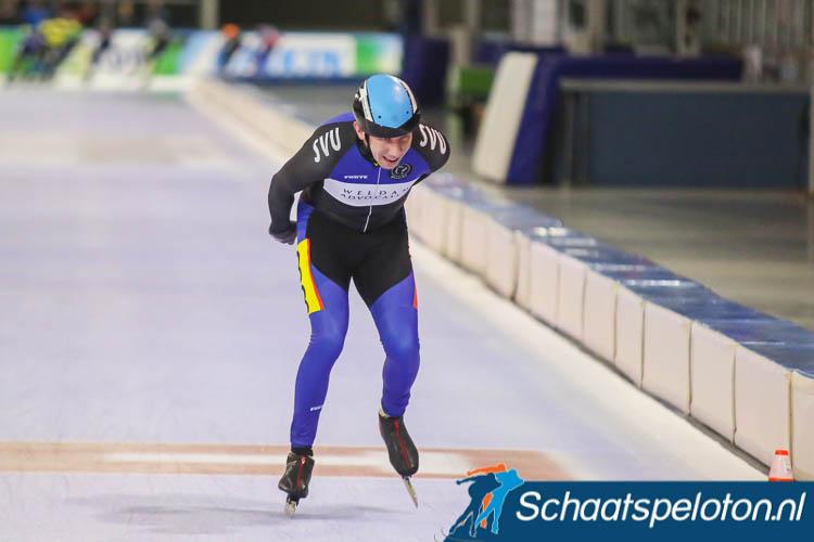 Robert Wierts eerder dit jaar in actie tijdens de doorstroommarathon in Utrecht.