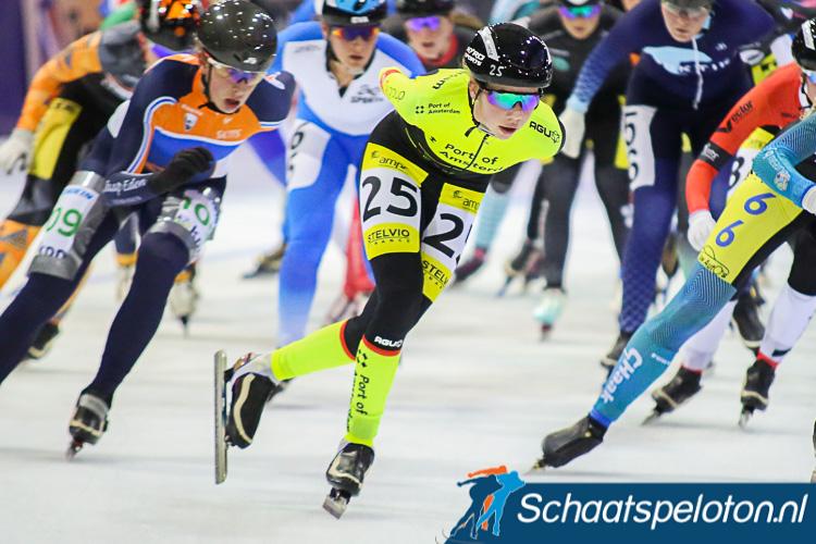 Roos Markus eerder dit seizoen in actie tijdens de Regiotopcompetitie.