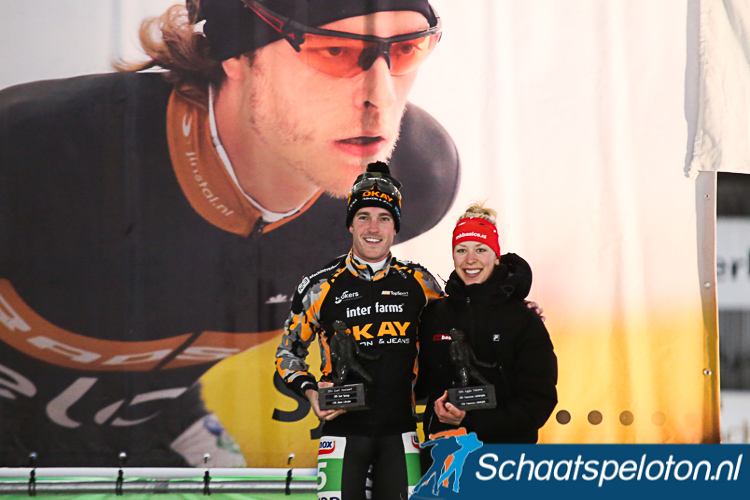Afgelopen seizoen wonnen Ingmar Berga en Iris van der Stelt de Sjoerd Huisman Bokaal, komend seizoen wordt deze prijs uitgereikt na afloop van de derde etappe in de Trachitol Trophy.