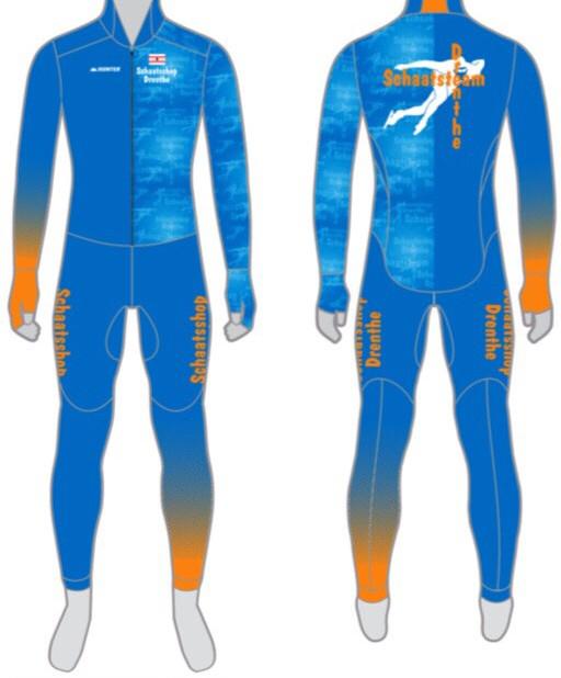 Schaatsteam Drenthe heeft al wel een pakontwerp, maar nog geen rijdsters. Gert-Jan van der Scheer is hard op zoek naar zijn schaatssters voor de nieuwe ploeg.