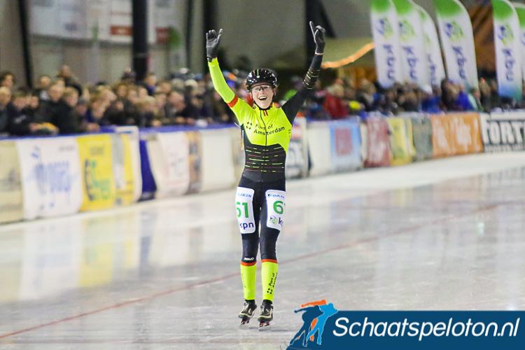 Tessa Snoek kroonde zich dit seizoen tot Nederlands Kampioene bij de Junioren A.