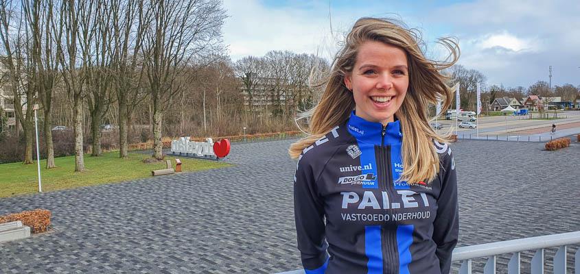 Tjilde Bennis komt komend seizoen uit voor Team Palet.