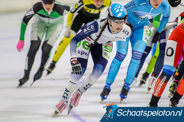Ondanks dat Viviana Rodríguez Rojas dit seizoen op een Nederlandse licentie rijdt mag zij niet deelnemen aan het NK marathonschaatsen.