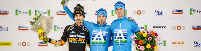 Arjan Stroetinga op herhaling in Tilburg, polepositie Sjoerd den Hertog voor cupfinale