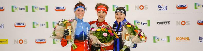Iris van der Stelt zeker van eindwinst KPN Marathon Cup, vijfde dagwinst voor Lisa van der Geest