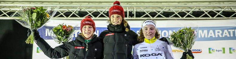 Lisa van der Geest met zesde overwinning naar tweede plaats KPN Marathon Cup